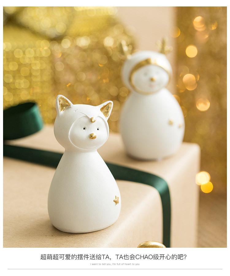 Ceramic Christmas Figurines Sale Detail (7)
