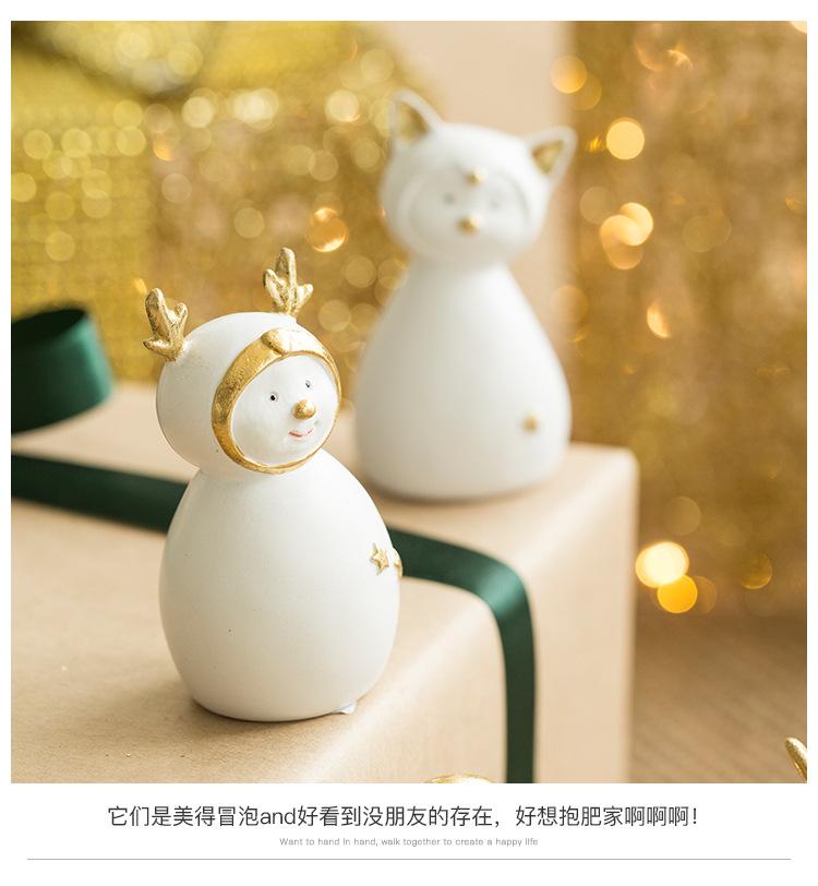 Ceramic Christmas Figurines Sale Detail (8)