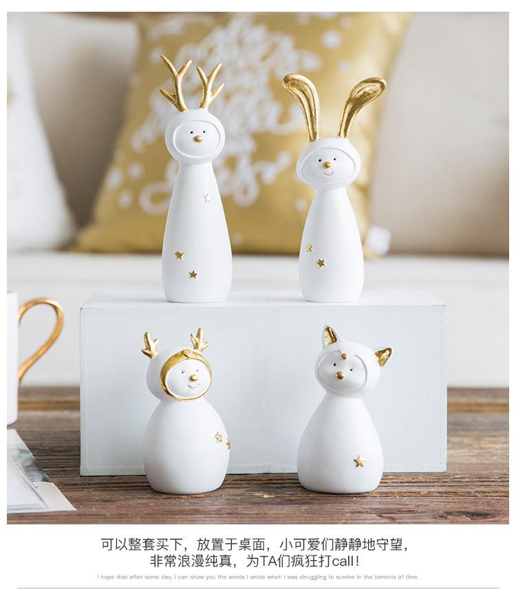 Ceramic Christmas Figurines Sale Detail (9)
