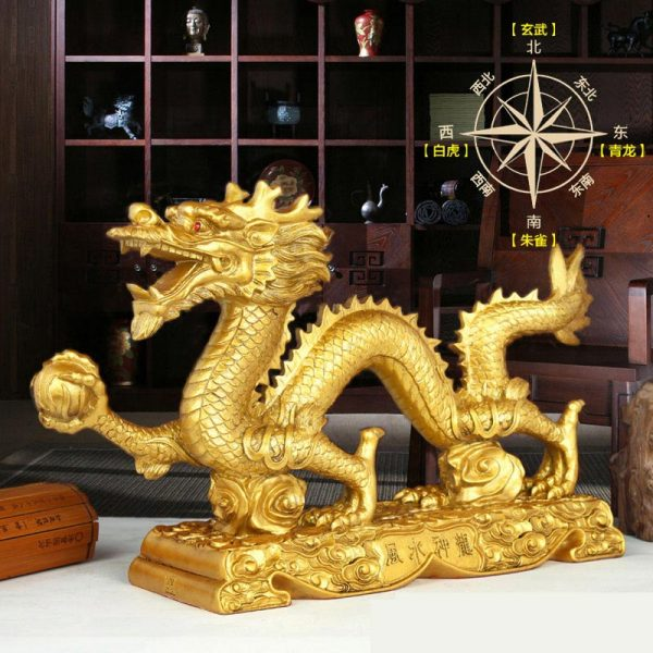 Chinese Dragon Statue For Sale (2)