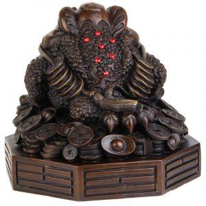 Feng Shui Money Frog Statue (1)