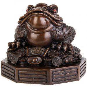 Feng Shui Money Frog Statue (2)
