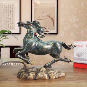 Feng Shui Running Horses Statue (4)