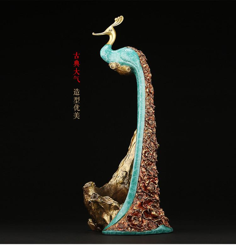 Peacock Statue Online Wine Holder (10)