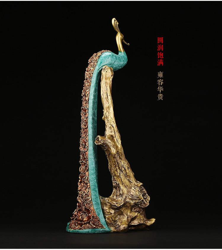 Peacock Statue Online Wine Holder (12)