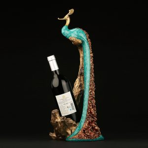 Peacock Statue Online Wine Holder (3)