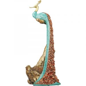 Peacock Statue Online Wine Holder (4)