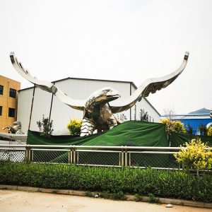 Steel Eagle Sculpture Manufacturer (6)