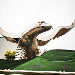 Steel Eagle Sculpture Manufacturer (7)