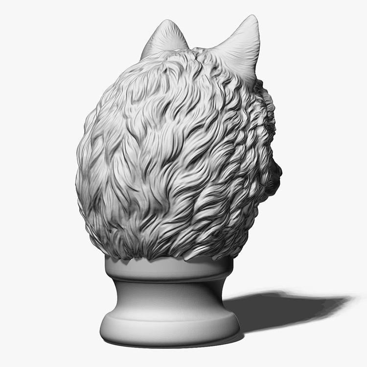 Wolf Head Sculpture Supplier (5)