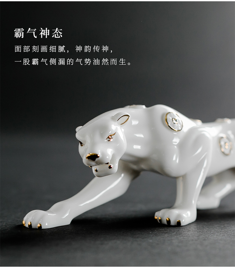 ceramic leopard statue online sale (10)