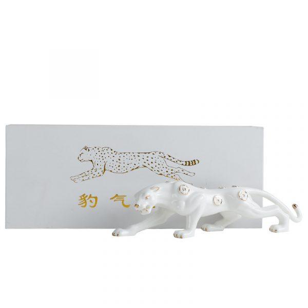ceramic leopard statue online sale (3)