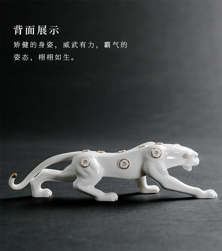 ceramic leopard statue online sale (8)