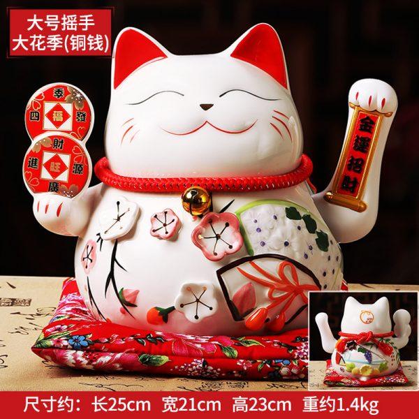 1IC02001 1082 Chinese Waving Cat Statue Online Store