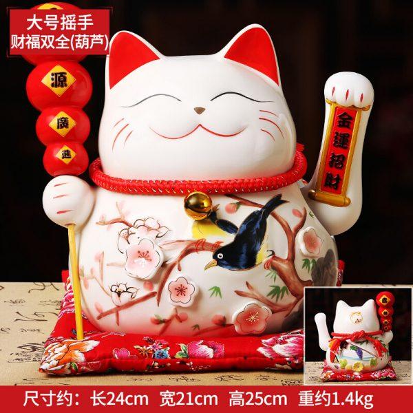1IC02001 1085 Ceramic Waving Cat Wholesale Online