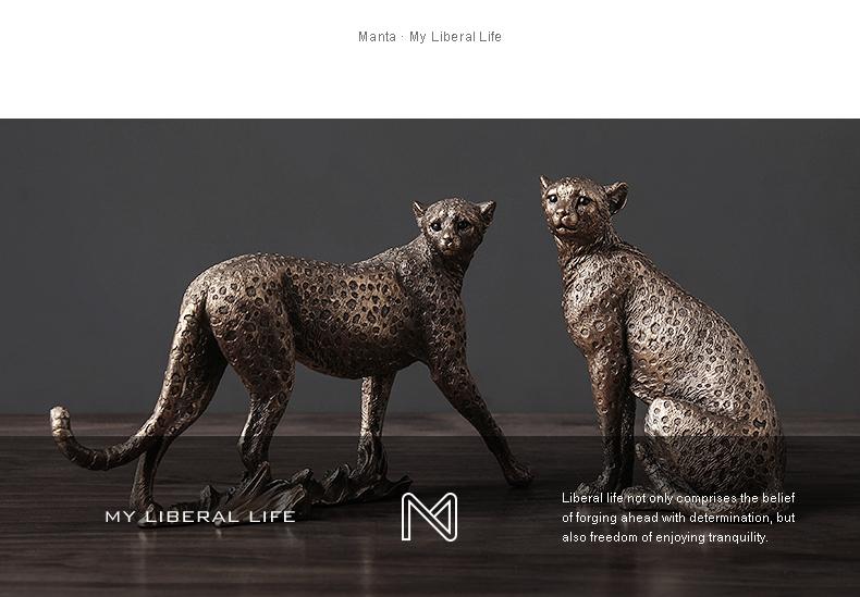 1J602002 Cheetah Figurines Resin Maker (16)