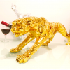 1J604006 Golden Leopard Statue Wholesale (2)