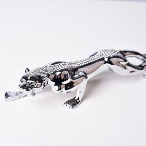 1J604008 Silver Leopard Ornament Online Sale (4)