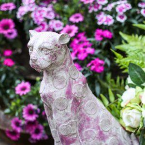 1J605001 Leopard Garden Statue China Maker (5)