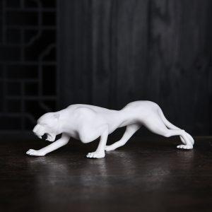 1J605002 Vintage Ceramic Leopard Statuette Sale (4)