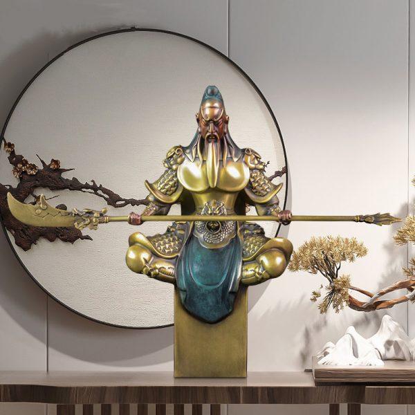 1J614001 kwan kong statue sale (3)