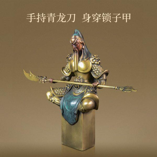 1J614001 kwan kong statue sale (5)