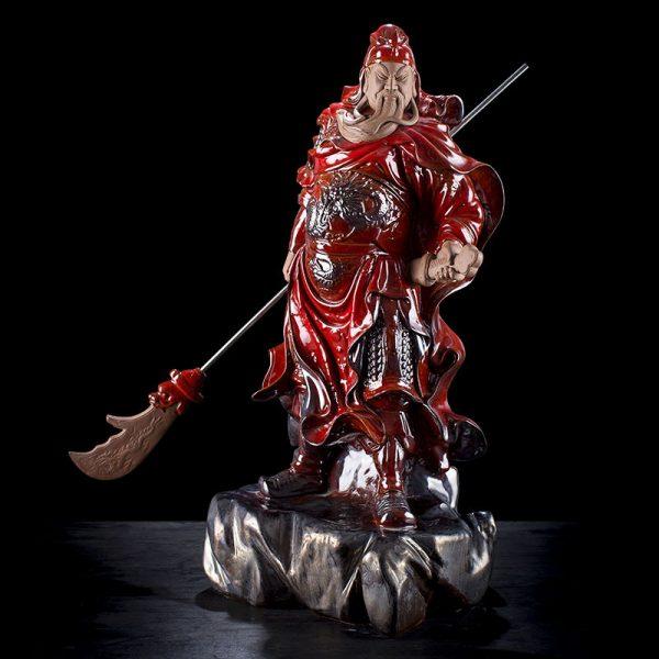 1J614005 Guan Di Statue Online Sale (4)