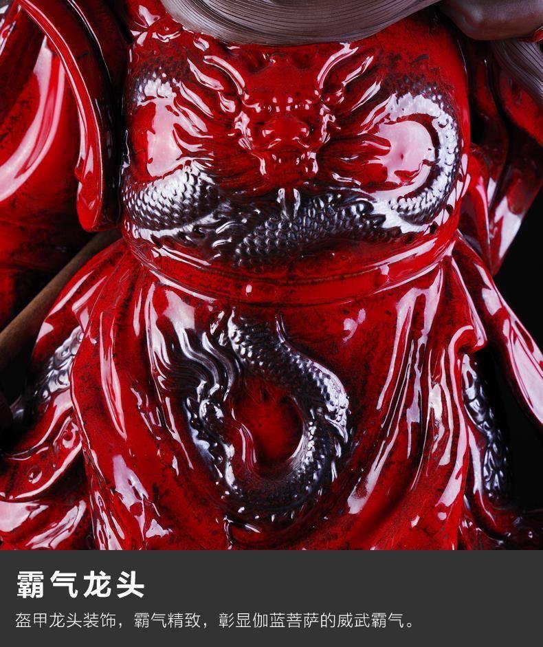 1J615001 Guan Yu Statue China (5)