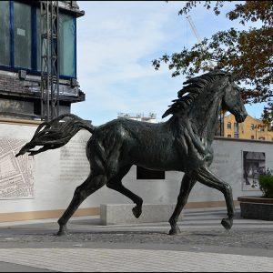 1JA13005 bronze horse statue life size (2)
