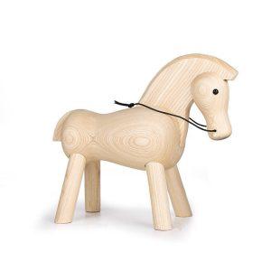 1JA28001-2 Wooden Horse Figurine China Factory (1)