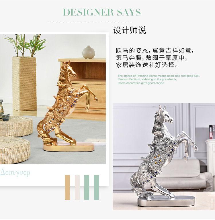 1JB03010 decorative horse figurines online sale (6)