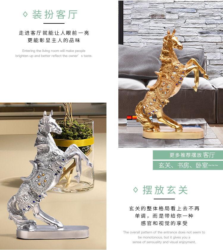 1JB03010 decorative horse figurines online sale (7)
