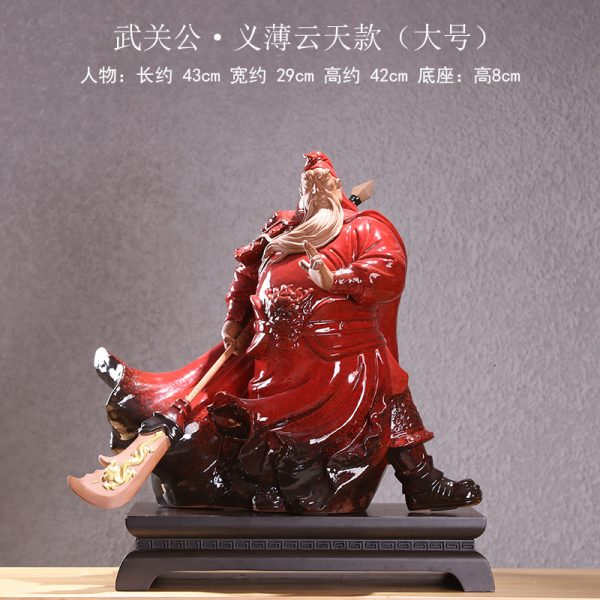A-B guan yu statue for sale