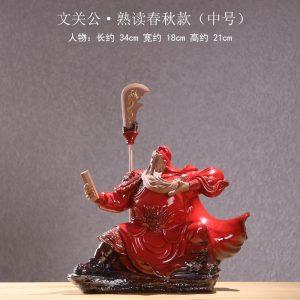 B-M chinese guan yu statue