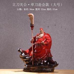 C-B guan yu statue feng shui