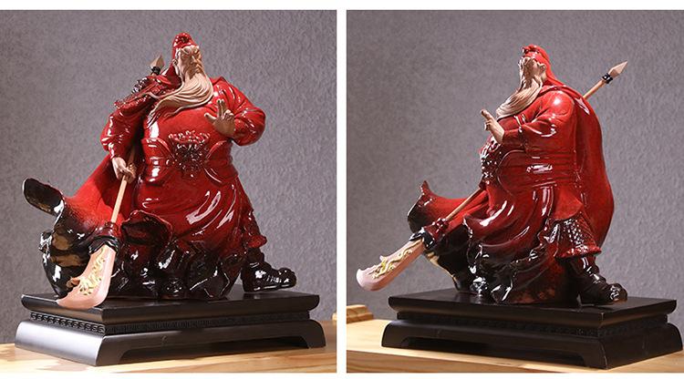 Guan Gong Statue Guan Yu Kwan Kong (2)