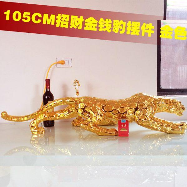 Leopard Gold 105cm