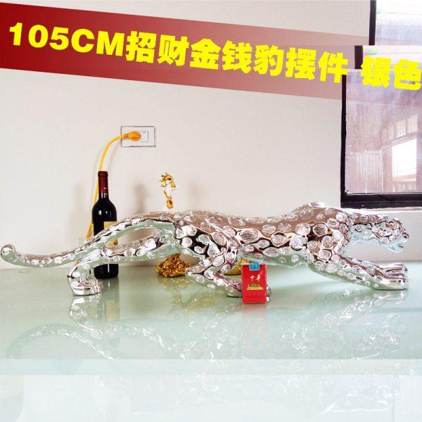 Leopard Silver 105cm