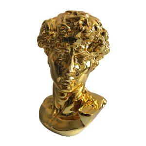 Michelangelo David Head Sculpture Statue (1)