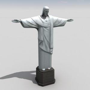 1I711010 jesus christ sculpture white marble (14)