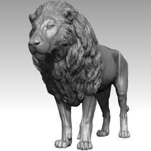 1I731003 Statua Del Leone (1)