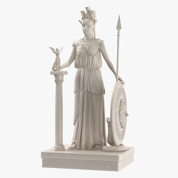 1I731005 Athena Statue Parthenon (1)