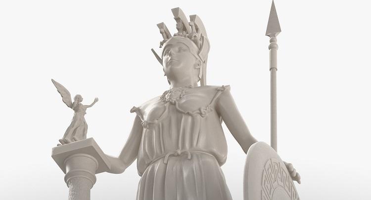 1I731005 Athena Statue Parthenon (11)