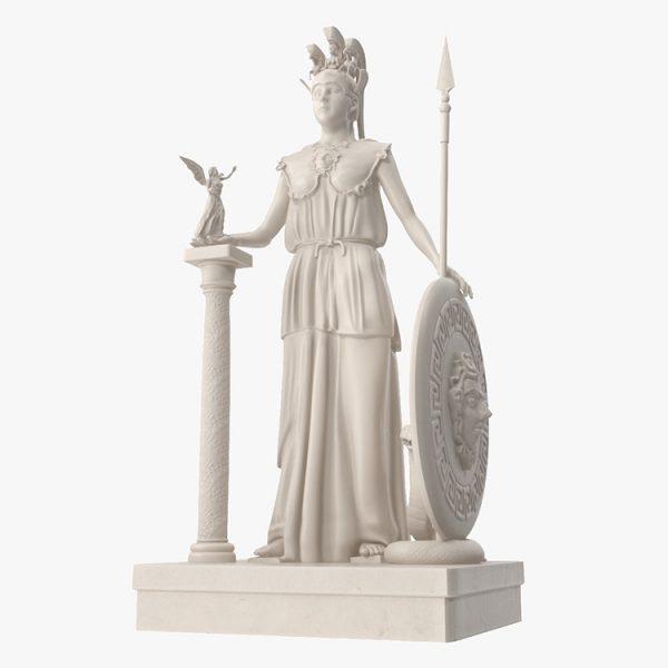 1I731005 Athena Statue Parthenon (2)
