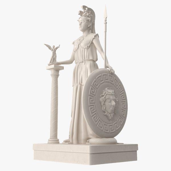 1I731005 Athena Statue Parthenon (4)