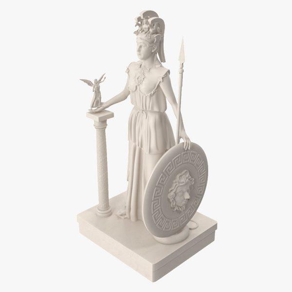 1I731005 Athena Statue Parthenon (5)