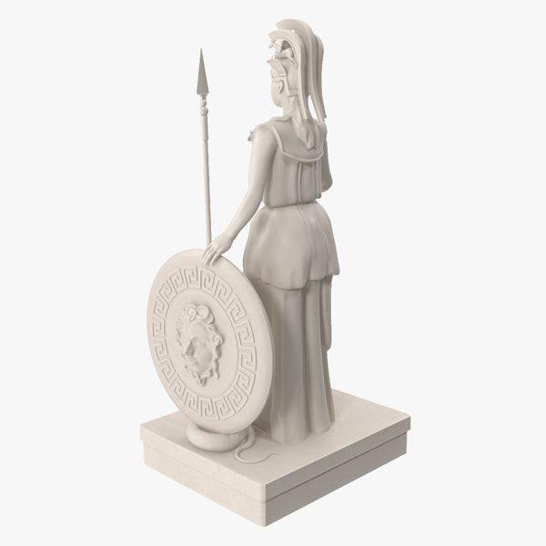 1I731005 Athena Statue Parthenon (8)