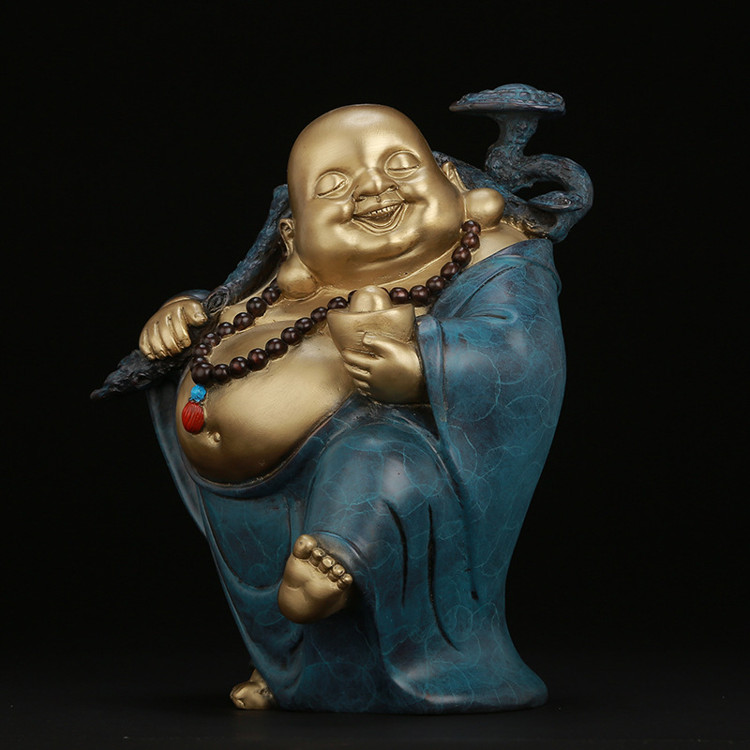 1I904030 laughing buddha statue for home (2)
