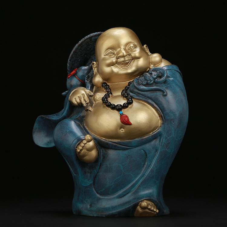 1I904030 laughing buddha statue for home (3)