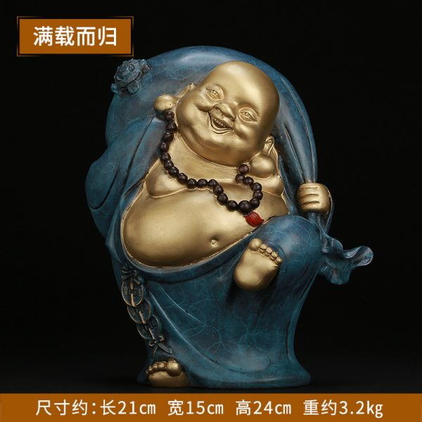 1I904030 laughing buddha statue for home (8)